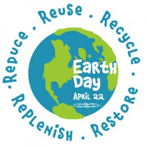Earth Day is approaching on April 22