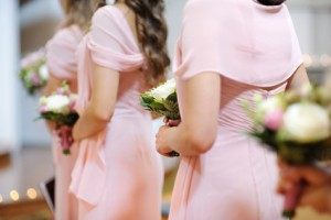 wedding, bridesmaid
