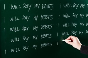 You can pay off debt. Yes you can