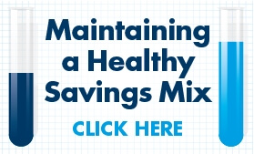 Infographic: How to Maintain a Healthy Savings Mix