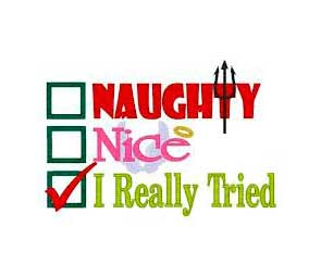 Do you have a naughty or nice holiday budget?