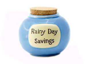 Rainy Days aren't just for Spring; Think savings too!