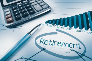 Retiring with Debt