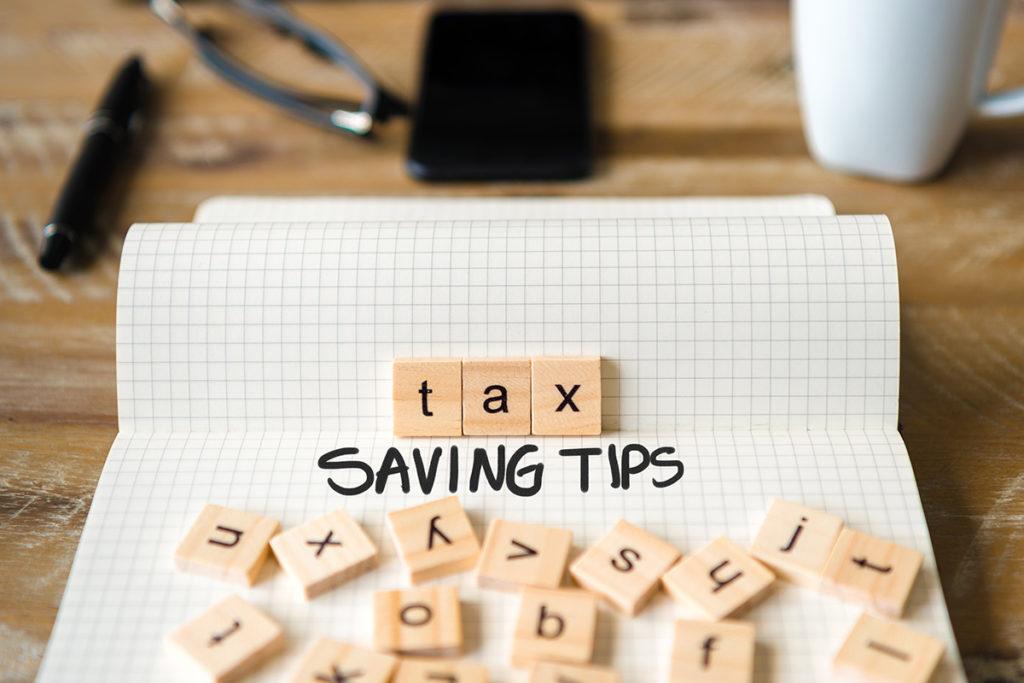 Tax Saving Tips