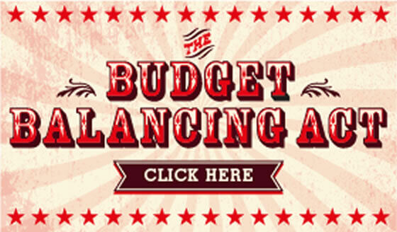 Infographic: The Budget Balancing Act