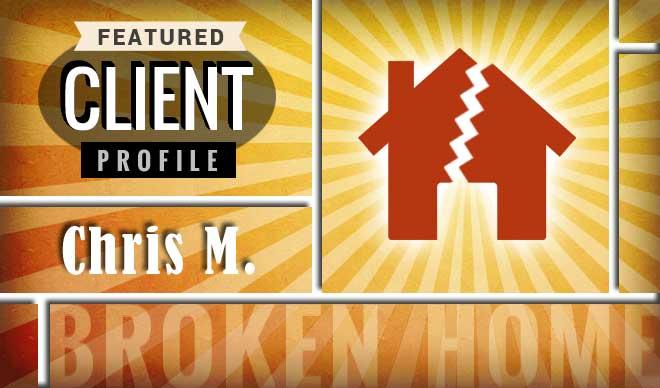 Chris M. Client Profile Graphic