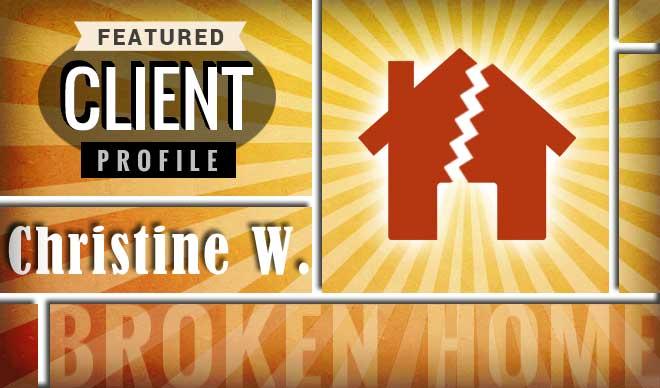 Christine W. Client Profile Graphic