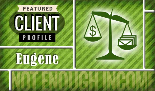 Eugene Client Profile Graphic