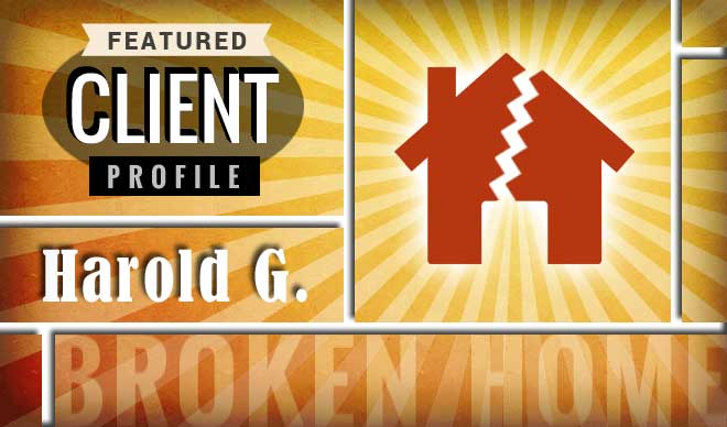 Harold G. Client Profile Graphic