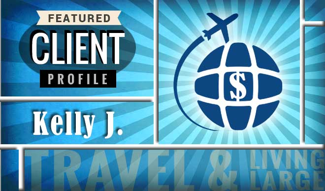Kelly J. Client Profile Graphic