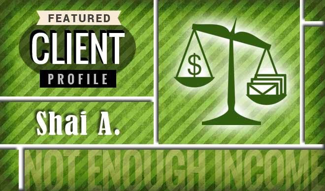 Shai A. Client Profile Graphic