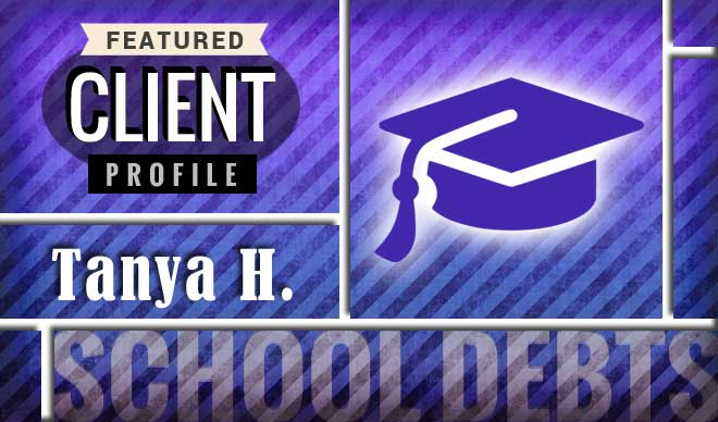 Tanya H. Client Profile Graphic