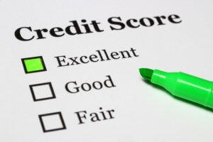 average credit score