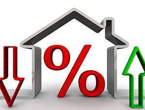 Changes percent on mortgages
