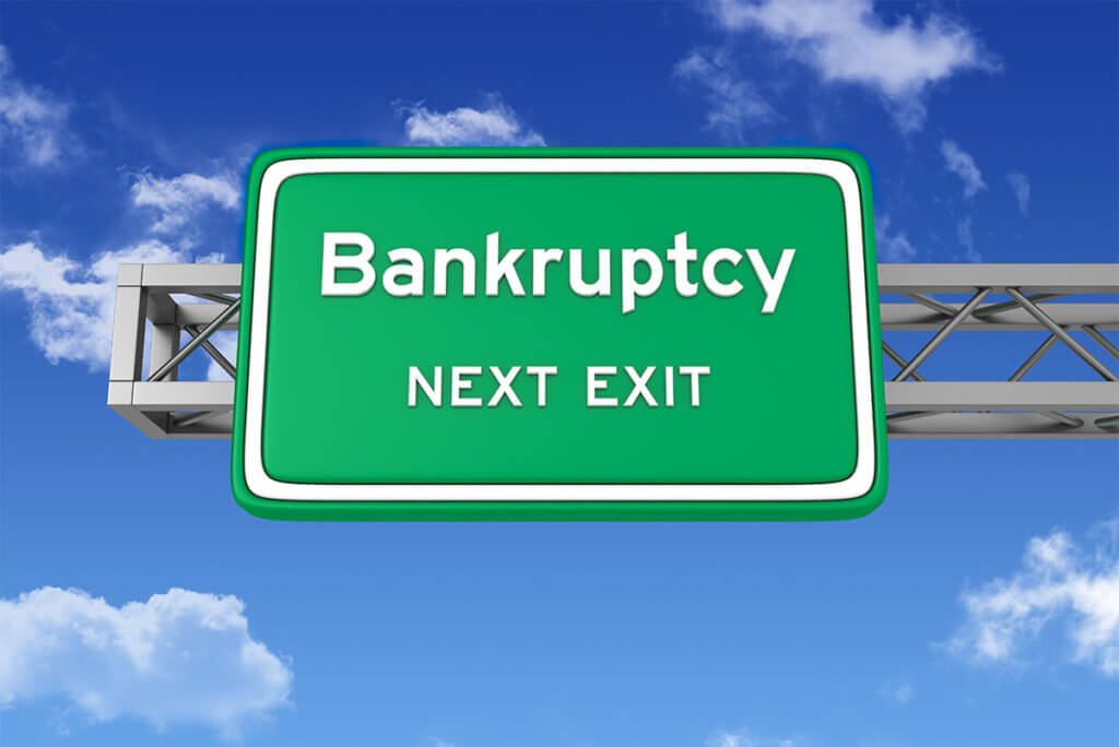 Take the next exit by declaring bankruptcy