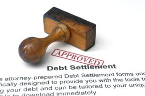 An approved debt settlement agreement