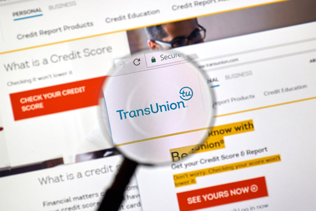 Transunion Q2 report